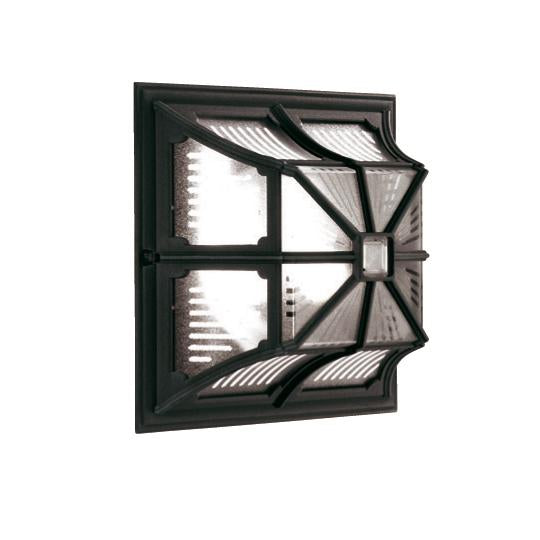 Elstead Lighting CP12 BLACK Chapel 1 Light Flush Light - SND Electrical Ltd