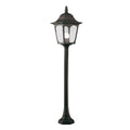Elstead Lighting CP5 BLACK Chapel 1 Light Pillar Light