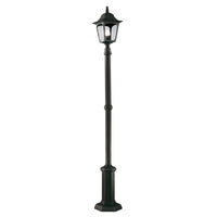 Elstead Lighting CP6 BLACK Chapel 1 Light Lamp Post - SND Electrical Ltd