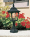 Elstead Lighting Chapel 1 Light Mini Pedestal Black