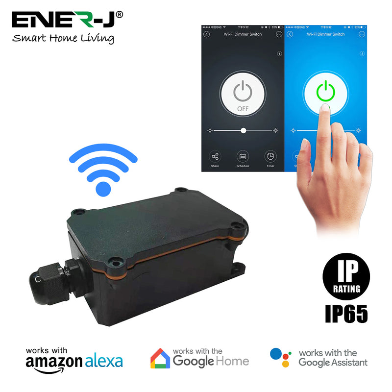 Ener-J Smart WiFi Outdoor Relay Switch
