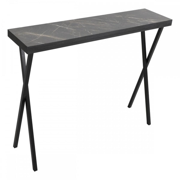 001DAT004 Console Table Dark Marble