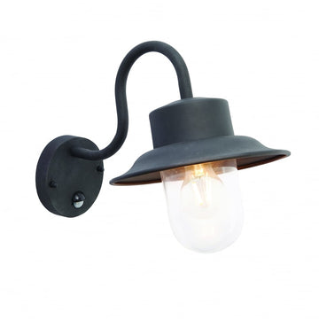 Endon 70331 Chesham PIR Outdoor Wall Light Black