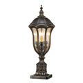 Feiss FE/BATONRG3 Baton Rouge 3 Light Pedestal Light