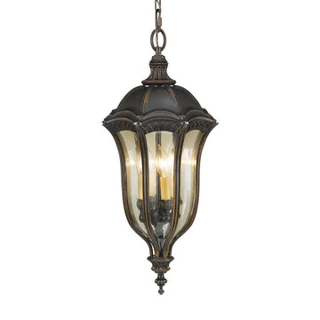 Feiss FE/BATONRG8 Baton Rouge 4 Light hanging-lantern