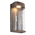Feiss FE/BENNIE/L ANBZ Bennie 1 Light Large LED Wall Light - Antique Bronze