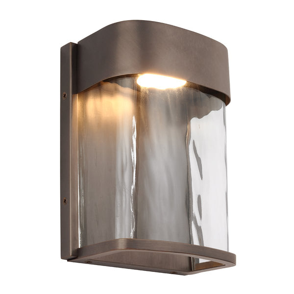Feiss FE/BENNIE/S ANBZ Bennie 1 Light Small LED Wall Light - Antique Bronze - SND Electrical Ltd