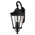 Feiss FE/COTSLN2/L BK Cotswold Lane 3 Light Large Wall Light - Black