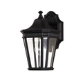 Feiss FE/COTSLN2/S BK Cotswold Lane 1 Light Small Wall Light - Black