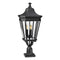Elstead Lighting Feiss Cotswold Lane 3 Light Large Pedestal Black