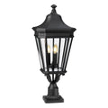 Feiss FE/COTSLN3/L BK Cotswold Lane 3 Light Large Pedestal - Black