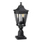 Elstead Lighting Feiss Cotswold Lane 2 Light Medium Pedestal Black