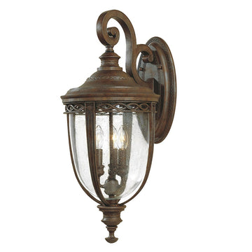 Feiss FE/EB2/L BRB English Bridle 3 Light Large Wall Light - British Bronze