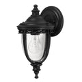 Feiss FE/EB2/S BLK English Bridle 1 Light Small Wall Light - Black