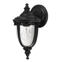 Feiss FE/EB2/S BLK English Bridle 1 Light Small Wall Light - Black - SND Electrical Ltd