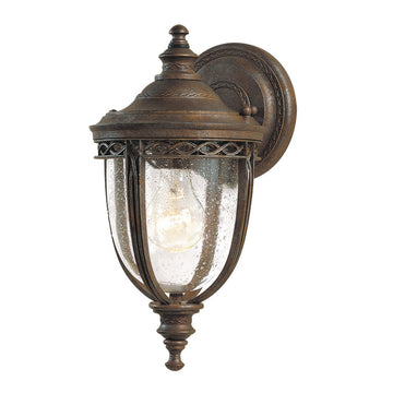 Feiss FE/EB2/S BRB English Bridle 1 Light Small Wall Light - British Bronze