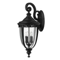 Feiss FE/EB2/XL BLK English Bridle 4 Light X Large Wall Light - Black