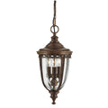 Feiss FE/EB8/M BRB English Bridle 3 Light Medium Hanging Lantern - British Bronze