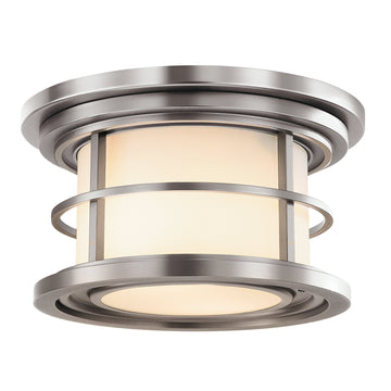 Feiss FE/LIGHTHOUSE/F Lighthouse 2 Light Outdoor Flush Mount