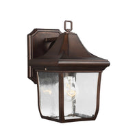 Feiss FE/OAKMONT2/S Oakmont 1 Light Small Wall Light - SND Electrical Ltd