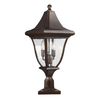 Feiss FE/OAKMONT3/M Oakmont 3 Light Medium Post Light - SND Electrical Ltd