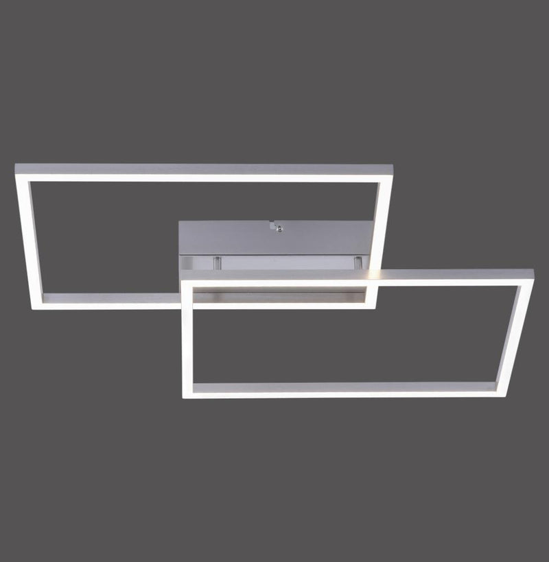 5571041 Large 2 Light LED Flush Ceiling Fitting - Colour Changing with Remote