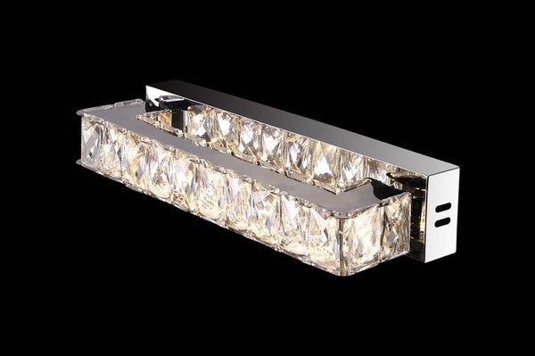 W1050 Khush Lighting Colour Changing LED Rectangular Wall Light - SND Electrical Ltd