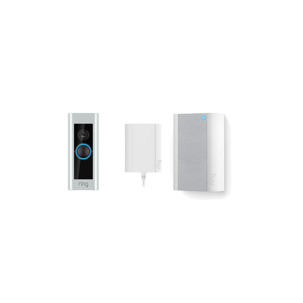 Video Doorbell Pro Plug In & All New Chime Pro