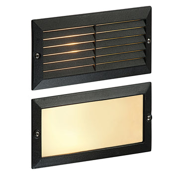 Endon OL60AB Eco Plain & Louvre Outdoor Brick Light