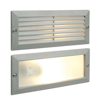 Endon 52213 Eco Plain & Louvre Outdoor Brick Light