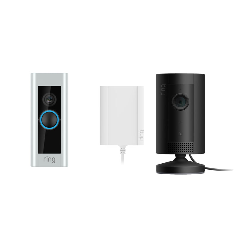 Ring Video Doorbell Pro Plug-In & Indoor Camera