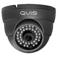 Q-vis 4K 4-in-1 Fixed Lens Eyeball Dome Camera Grey - SND Electrical Ltd