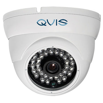 Q-vis 4K 4-in-1 Fixed Lens Eyeball Dome Camera White