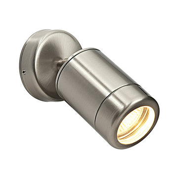 Endon ST5010S Odyssey Outdoor Wall Spotlight Stainless Steel