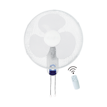 "Ced WL16RT 16"" Wall Fan 60W 3 Speed C/W Remote Control"