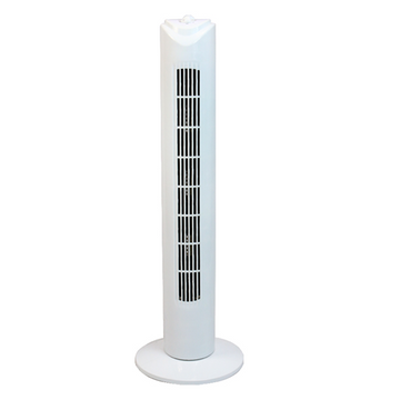 Ced TWR30T 20Hrs 3 Speed 50W Tower Fan C/W Timer