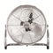 Ced HVF18 High Velocity 3 Speed Heavy Duty Tilt Pedestal Fan 160W 240V With Chrome Guard & Black Blades - SND Electrical Ltd