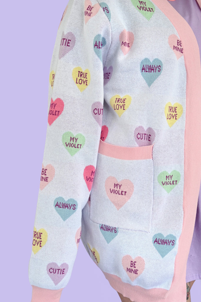 Candy Hearts Cardigan