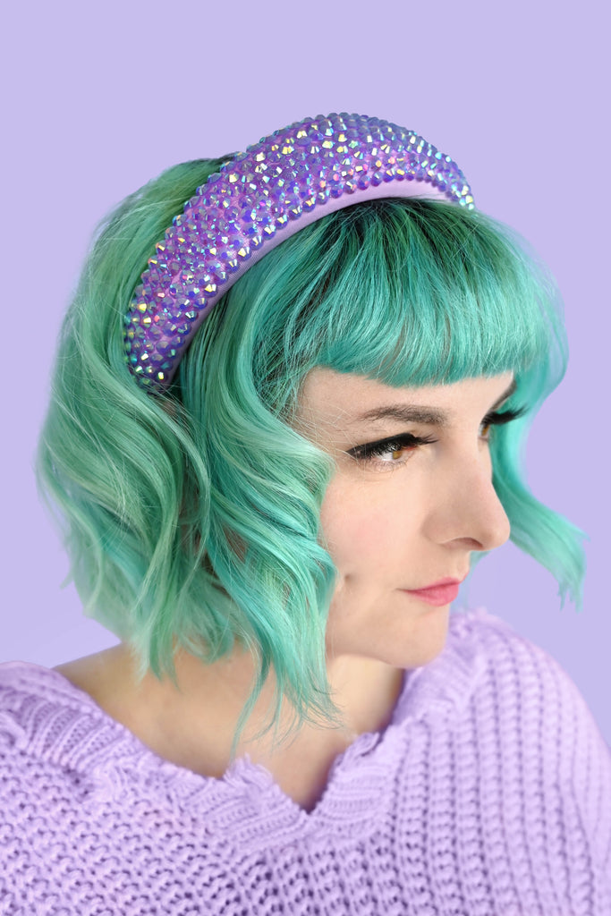 Hologram Headband - Purple