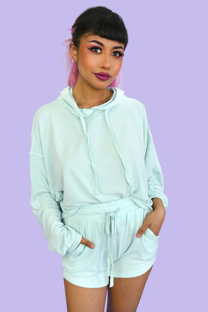 Pastels and Chill Lounge Set - Mint