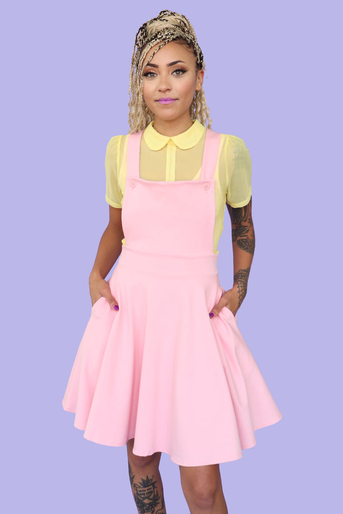Alice Pinafore - Pink