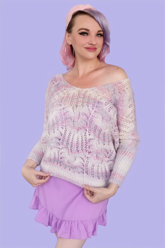 Crystal Slouch Sweater