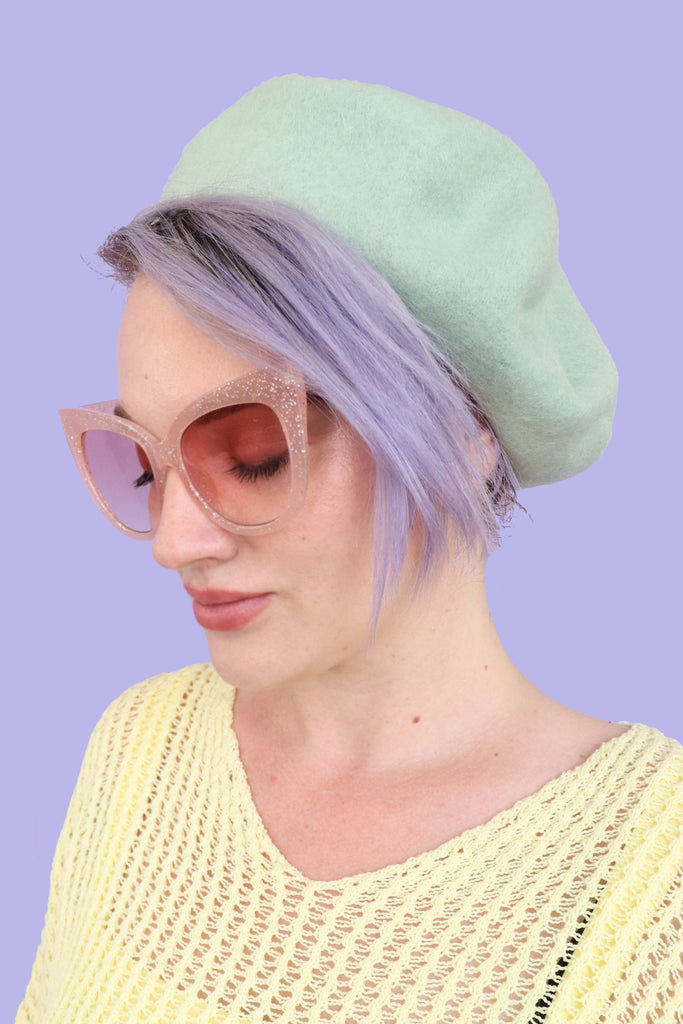 French Dreams Beret - Mint