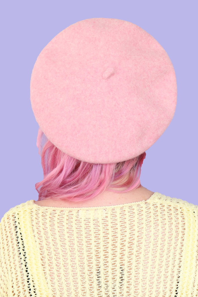 French Dreams Beret - Pink