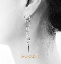 Load image into Gallery viewer, 925 Sterling Silver Loops Earring