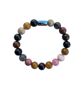 Women's Tourmaline Beaded Stretch Bracelet