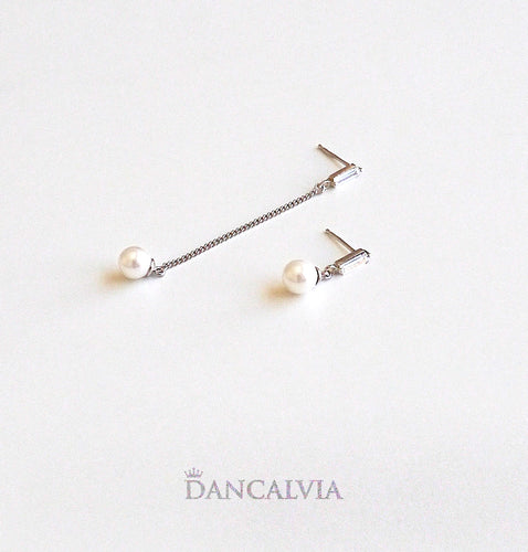 925 Sterling Silver Earring With Mother Of Pearl