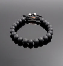 Load image into Gallery viewer, Unisex Matt onyx Beaded Bracelet Handmade Gemstone Bracelet