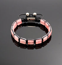 Load image into Gallery viewer, Womens Strawberry Quartz Bracelet Handmade Bracelet Natural Stone Adjustable Bracelet