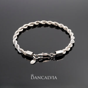 Stainless Steel Rope Bracelet